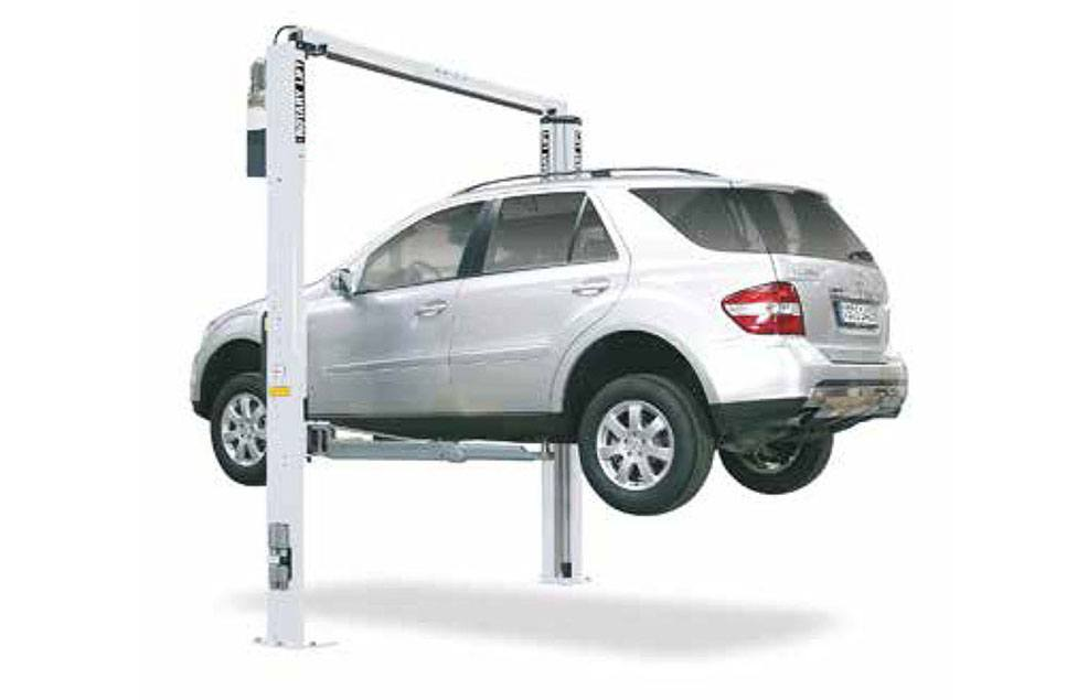 rotary two-post car lifts