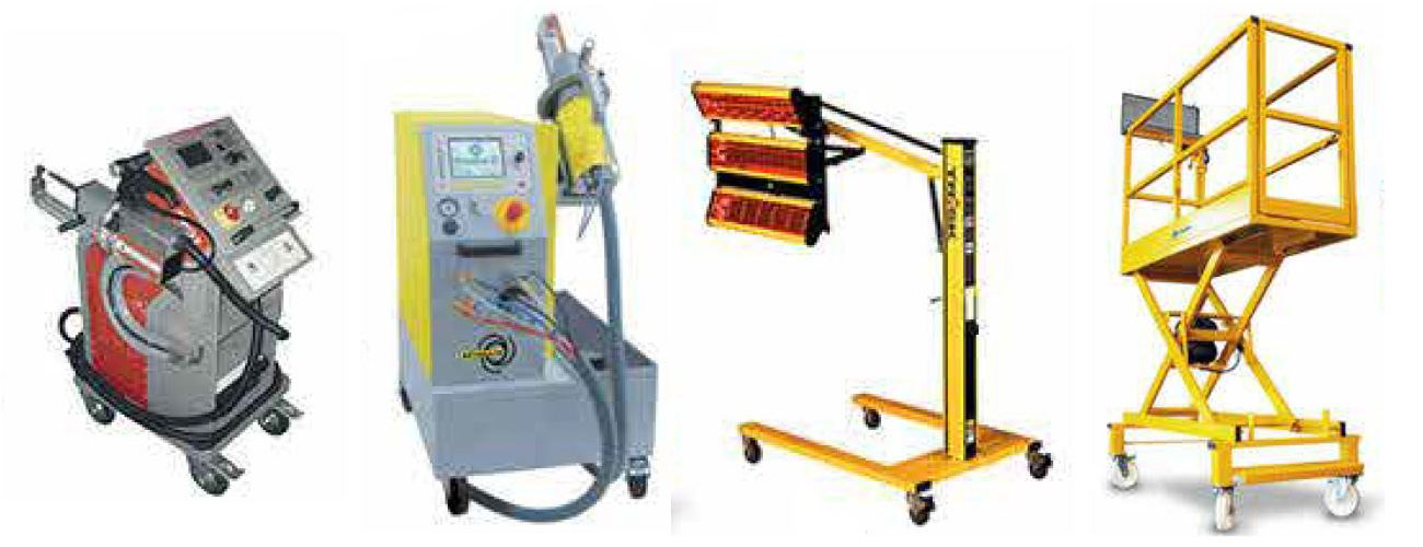 Demo used body shop equipment bodyshop solutions ltd for Parlour equipment