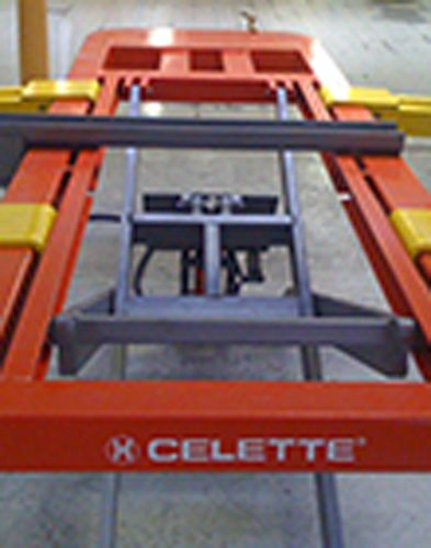 used body shop equipment celette bench