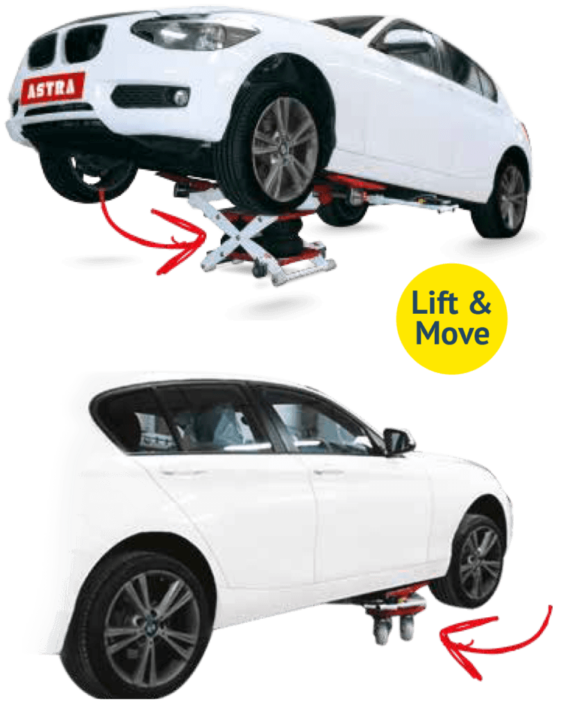 two wheel car lift and mover